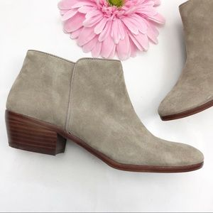Sam Edelman Shoes - Sam Edelman Petty Suede Ankle Boots: Tan/Taupe